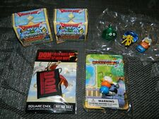 Dragon Quest Figures Lot Rocket Slime Pre Order NEW 2004 Boxed Figures and More