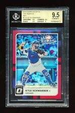 BGS 9.5 KYLE SCHWRBER 2016 DONRUSS OPTIC ROOKIES RED PRIZM REFRACTOR #/99 POP 1