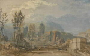 Joseph Mallord William Turner Andernach Giclee Paper Print Poster Reproduction