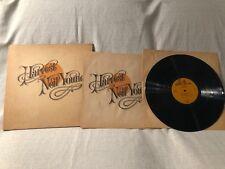 1972 Neil Young Harvest Record Vinyl LP Album Reprise MS 2032 VG+/G+ with insert