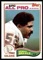 1982 Topps #96 Robert Brazile HOF Houston Oilers / Jackson State