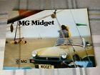 MG Midget 1974 - 12 page sales brochure - Excellent Condition