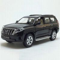 1:32 Toyota Land Cruiser Prado Model Car Diecast Gift Toy Vehicle Kids Black