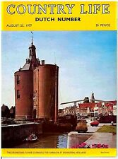 Country Life Magazine Dutch Number Birds of Vlieland Aug 25 1977 Birthday Gift