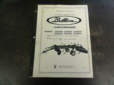 Brillion Landcommander Lcs3301 Lcs5241 Lcs5301 Lcs7241 Lcs7301 Operators Manual