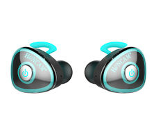Blue Wireless Sports Bluetooth Headphones Earbuds Stereo Earphone