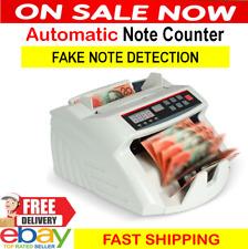 Australian Money Bill Note Counter Auto Counting Machine FAKE NOTE DETECTOR