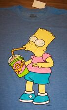 THE SIMPSONS BART SIMPSON Brain Freeze T-Shirt XL NEW w/ TAG