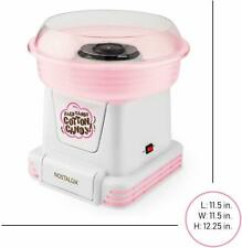 "Nostalgia  "" Cotton Candy Maker "" MAKES COTTON FROM  Hard & Sugar-Free Candy !"