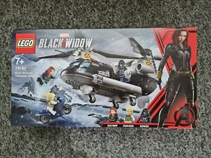 Lego Marvel Super Heroes Black Widow's Helicopter Chase 76162 Brand New & Sealed