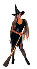 Ladies Sexy WITCH Fancy Dress Halloween Wicked Costume Standard Size (15029)