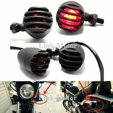4 X Motorcycle Turn Signal Indicator Light For Harley Davidson Cafe Racer,Bullet