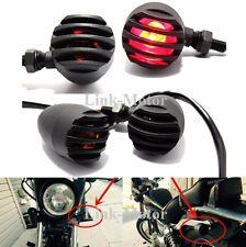 4 X Motorcycle Turn Signal Indicator Light For Harley Davidson Cafe Racer,Bullet