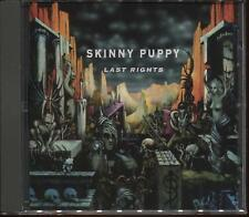 SEALED NEW CD Skinny Puppy - Last Rights