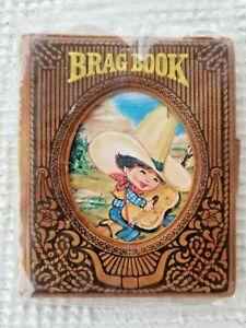 Vintage 1981 Baby Photo Album Brag Book Little Buckaroos Jasco NOS