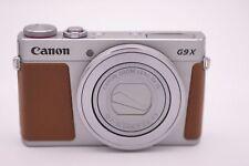 Canon Powershot G9X G9 x 20.1MP Fotocamera Digitale - Argento