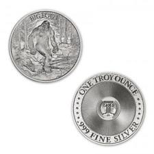 Limited Mintage Bigfoot 1 oz .999 Silver USA Made BU Round Bullion Coin