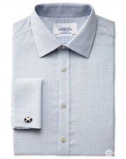 Charles Tyrwhitt Men's Check Machine Washable Formal Shirts