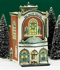 """Dept 56 Christmas in the City """"The Grand Movie Theater"""" Brand New In Box"""