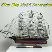 Wooden Nautical CUTTY SARK Sailing Boat Sailboat Ship Model Kit Decor  ❤