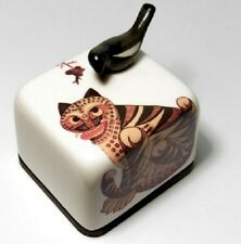 Korea Folk Painting Tiger and Magpie Orgel Music Box Paperweight Hand Figure