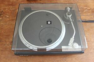 JVC QL-A7 Quartz Locked Direct Drive Turntable Vinyl Record Player w/ Stanton