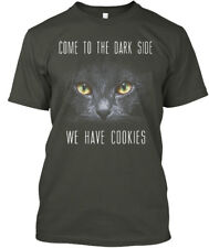 Cat-we Have Cookies - Come To The Dark Side We Hanes Tagless Tee T-Shirt