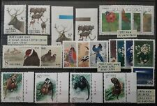 CHINA 1984-2002 stamps and s/s in XF condition MNH (see all scans)