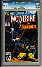 Marvel Comics Presents #102 (1992) CGC 9.8 WHITE!! Wolverine! Ghost Rider!