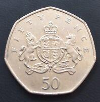 50p Coin 2103 Christopher Ironsides Royal Crest Shield Lion & Unicorn FREEPOST