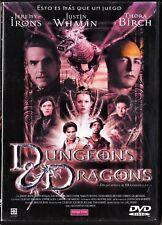 DUNGEONS & DRAGONS (Dragones y Mazmorras) España tarifa plana envíos DVD: 5 €