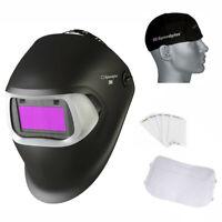 3M Speedglas 100v Schweiß Helm, Farbton 8-12 + Mütze+2 Aussen & 1 Innen Linsen