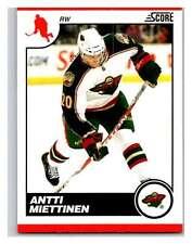 (HCW) 2010-11 Score Glossy #250 Antti Miettinen Wild Mint
