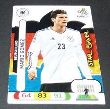 SUPER MARIO GOMEZ ALLEMAGNE DEUTSCHLAND FOOTBALL CARD PANINI UEFA EURO 2012