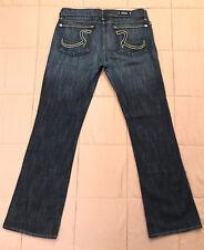 womens ROCK & REPUBLIC Kasandra dark wash boot cut stretch denim jeans 30 W32 12