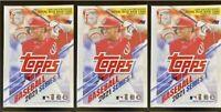 2021 Topps Series 1 Baseball - LOT OF 3 - Factory Sealed MLB Relic Blaster Boxes