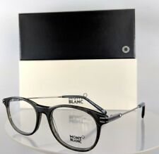New Authentic Mont Blanc Mb 724 098 Eyeglasses Charcoal Mb724 Frame 51Mm