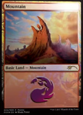 "Mountain ""Shooting Star""  FOIL Promo- NM MTG Gift Pack Mark Poole"