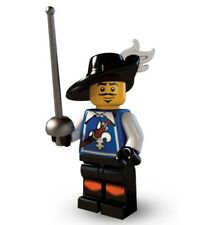 Lego series 4 musketeer mini-figure #3 of 16 with collectors checklist