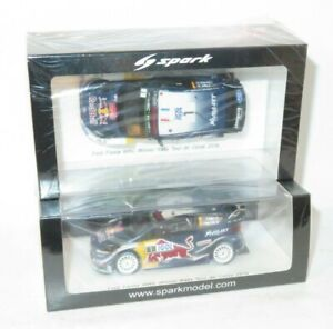 1/43 Ford Fiesta WRC Red Bull Winner Rally de France Tour de Corse 2018 S.Ogier