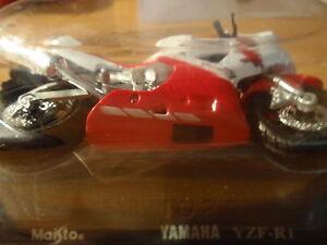 YAMAHA YZF-R1 MAISTO RED/WHITE