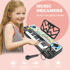 32 Keys Multifunction Electronic Piano Kids Keyboard Music With Microphone  Toys