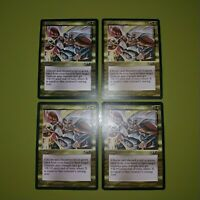 Surge of Strength x4 Alliances 4x Playset Magic the Gathering MTG