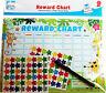 6 x Children's Jungle Behavior Reward Charts with Stickers & Pens