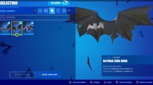 FORTNITE Batman Zero Wing Glider  🔥 IP ADDRESS VERIFIED PURCHASES ONLY
