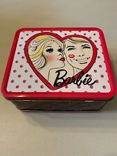 2010 Barbie Metal Lunch Box