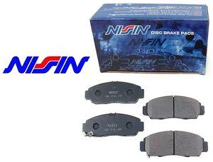 NISSIN Japan FRONT Brake Pads Set NPO-124W NPO124W