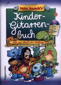 Peter Bursch Kindergitarrenbuch ohne Noten mit CD
