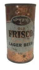 Old Frisco flat top beer can