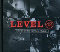 Level 42 - Live From Metropolis Studios CD & DVD NEW/SEALED